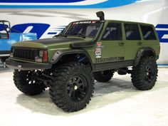 cherokee xj crawler with a snorkel