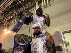 Jimmy & Jey uso Retain SD Tag Team Champion tonight at WrestleMania 35 Watch Wrestling, Wrestling Wwe, Trinity Fatu, Wwe Superstar Roman Reigns, Wrestlemania 35, Wwe Tna, Wwe Champions, Watch Tv Shows, Backstreet Boys
