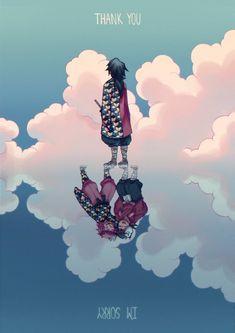 Demon Slayer x Kimetsu no Yaiba Manga Anime, Fanarts Anime, Sad Anime, Anime Demon, Otaku Anime, Kawaii Anime, Anime Art, Mein Crush, Slayer Meme