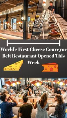 The food industry is constantly creating new and imaginative ways of presenting food. With the rate that things are going, nothing surprises me anymore. Cheese Bar, Conveyor Belt, Food Industry, Wtf Funny, First World, New Recipes, Relationship Goals, All In One, Restaurant