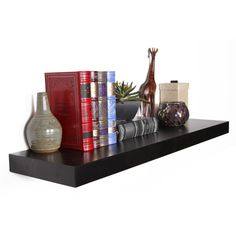 Floating Wall Shelf (11 CAD) ❤ Liked On Polyvore Featuring Home, Home Decor