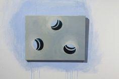 Ewa Bloom K., 3_iluzja' 2008, acrylic on canvas
