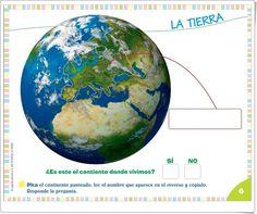 """Proyecto de Educación Infantil """"La Tierra"""" (Colección """"¡Me interesa!"""" de Editorial Algaida)"""