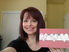 New tutorial video is up!  DIY Weekend #4 - Handmade Valentine Card