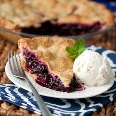 Blueberry Pie - make the most of the season!