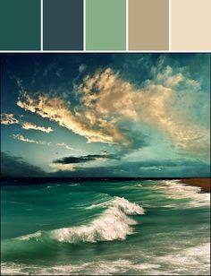 Ocean & Sky palette