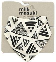 Love this bib from Milk and Masuki