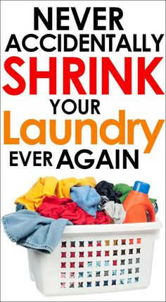 Genius simple tip so that you never accidentally shrink your laundry ever again!