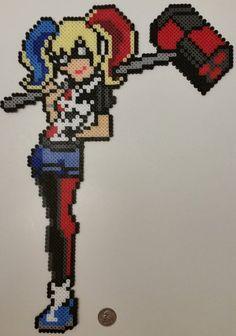 Harley Quinn Perler by jrfromdallas.deviantart.com on @DeviantArt