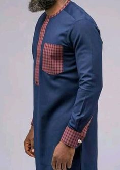 These are african men clothing made with with high quaity fabric…. its worn f… These are african men clothing made African Wear Styles For Men, African Shirts For Men, African Dresses Men, African Attire For Men, African Clothing For Men, Nigerian Men Fashion, African Men Fashion, Costume Africain, Mega Fashion