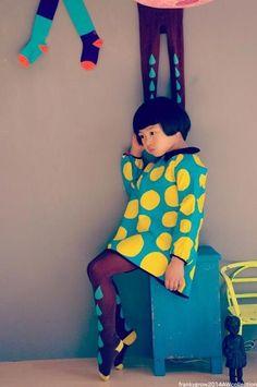 Super inspiring Japanese designer, Chizuko TAKAI. Love the prints and colors!
