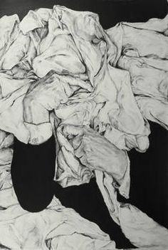 "Saatchi Art Artist Brian K Simpson; Drawing, ""Facing No 5"" #art"