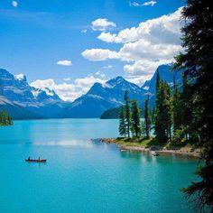 Maligne Lake  Canadá.