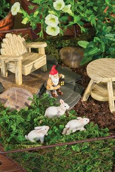 Rustic Garden Mini Garden Assortment
