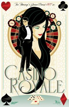 Another beautifully Illustrated Poster Of A James Bond Movie by Mike Mahle - DesignTAXI.com