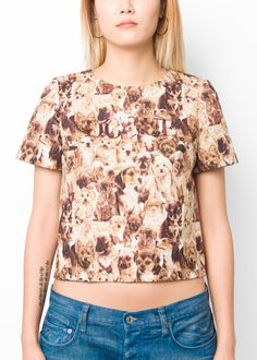 I pretty much HAVE to have this shirt. @Love to Talk's awesome DOGUE print! // Love to Talk