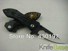 Spyderco F44 přežití kapesní zavírací nůž 57HRC Forge ocelový meč hliník + ocel zpracovat více než vojenské H1 nožů 5ks / lot (Čína (pevninská část))