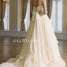 ジルスチュアート ウェディングドレス.JPG
