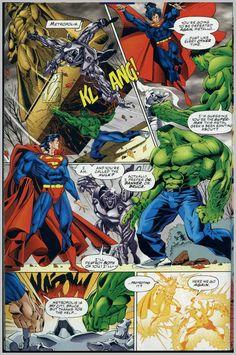 superman vs the hulk | İkilinin daha önce yaşadığı seviyeli bir birliktelik Dc Versus ...