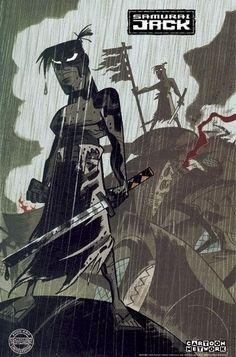 ¿Te acuerdas de Samurai Jack? 30 geniales ilustraciones - Taringa!