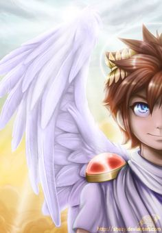 Kid Icarus Art Is Great