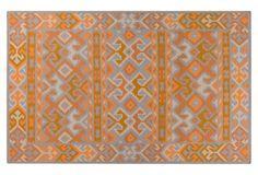 Artesia Flat-Weave Rug, Orange