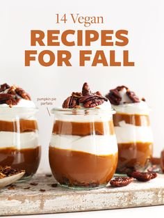 I have gathered some of our best Fall-inspired recipes below to set you off on the right foot this season! From breakfast to soups, we've got you covered.