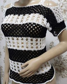 Nusret Hotels – Just another WordPress site Crochet Woman, Diy Crochet, Crochet Baby, Crochet Top, Crochet Designs, Crochet Patterns, Crochet Cardigan, Crochet Fashion, Crochet Clothes