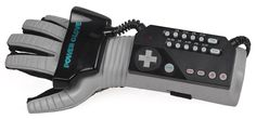 The 'Nintendo Entertainment System' (NES) Power Glove.