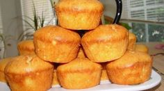 cheese muffins I enjoy baking on the basis of cottage cheese dough, it always turns out delicate, soft, especially if not crowded with unnecessary fats Cake Recipes, Dessert Recipes, Desserts, Cheese Muffins, Hungarian Recipes, Food Photo, Good Food, Food And Drink, Cakes And More