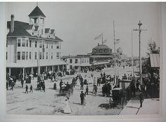 Black White Photo Maine Photo Souvenir Old Orchard Beach ME