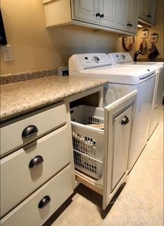 Hidden Laundry Design, Pictures, Remodel, Decor and Ideas - page 3