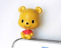 3D Disney Winnie the Pooh Friend  Cell Phone by POPStation on Etsy, $10.00