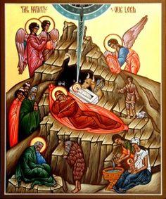 Explanation of Nativity icon