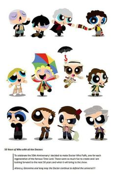 Power Puff Doctors (Doctor Who)
