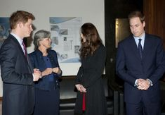 Kate Middleton Photos - Prince William, Prince Harry, and Kate Middleton arrive at New Zealand House in Haymarket to sign a book of condolences for the victims of the earthquake in Christchurch, New Zealand. - Prince William and Harry at New Zealand House