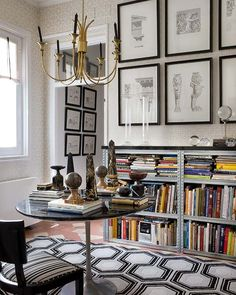 Book shelves & stones