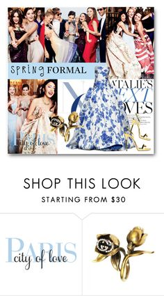 """""""#Spring Formal - Debutantes In Paris"""" by nikkisg ❤ liked on Polyvore featuring Isabel Sanchis, Gucci, Giuseppe Zanotti and springformal"""