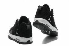 best cheap cd518 f5de8 Jordan After Game 2 Shoes Black White Logo