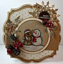 FLYING CHRISTMAS ~ ELINE'S CHRISTMAS ~ Marianne Designs - Google Search