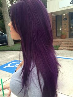 Dark Purple Hair Color Ideas - Fashion Is My Crush Do you want dark purple hair color? We have pictures of Amazing Dark Purple Hair Color Ideas that will inspire the purple diva in you! Dark Purple Hair Color, Cool Hair Color, Dark Violet Hair, Dark Plum Hair, Violet Hair Colors, Purple Lilac, Nice Hair Colors, Blue Hair, Hair Color Ideas For Dark Hair