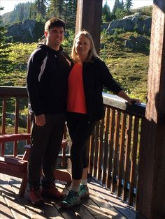 """Marriage proposal at Purcell Mountain Lodge! Congratulations to Erin Fuller and Michael McGuigan. Michael proposed and Erin said """"yes!""""."""