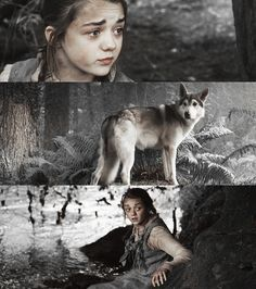 Arya Stark. Game of Thrones!... Fantastic.