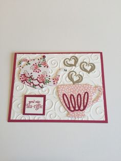 Cups & Kettle Dies by jtaylor - Cards and Paper Crafts at Splitcoaststampers