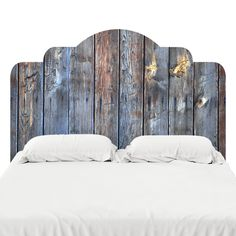 Designed to look like the real deal, these adhesive headboard decals are printed on our popular FabTac material — the same material we use for our wallpaper. Best part? They can be removed, reused, and repositioned so they can move with you! Our adhesive headboards are the perfect thing to spruce up your bedroom or guest room.