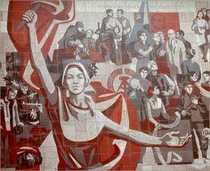 Poster DDR - Sozialistische Kunst 1970