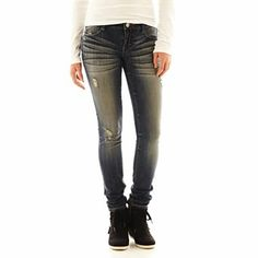 Decree® Rebel Super Skinny Jeans - jcpenney