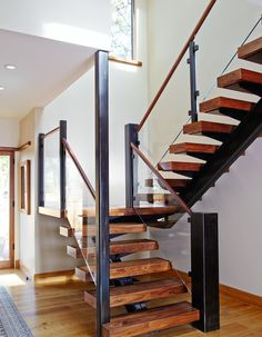 21 Bold Open Tread Staircase Designs