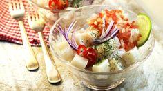 Hoy te traemos una muy fácil receta de #CevicheDePescado http://granyagonzalez.com/2013-01-07-16-12-15/articulos-de-prensa/219-como-hacer-un-ceviche-de-pescado