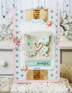 Today is Beautiful...Handmade Card by Melissa Phillips
